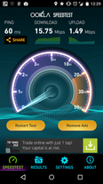 Test din hastighed med Ookla Speedtest